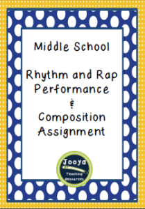 Rhythm and Rap Assignment