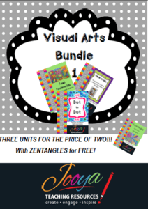 Visual Arts Bundle 1 with Super Six Reading Strategies