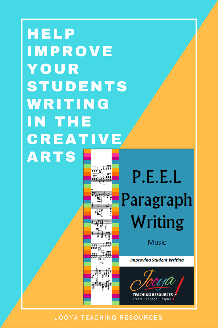 Inspire your students to write critically about any piece of music using these PEEL Paragraph planning templates from Jooya Teaching Resources. Includes all the Concepts of Music. Use over and over, with any genre, suitable for Middle school and older students.