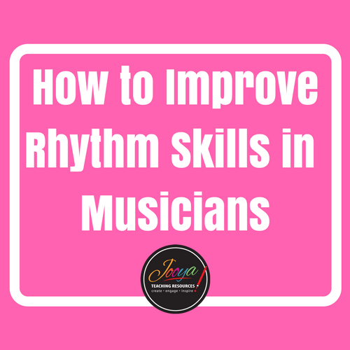 Rhythm Patterns for Musicians from Jooya Teaching Resources Blog Post. Set A contains 5 levels with 15 rhythms of progressing difficulty in each level. Great to use as a warm up with all your music classes, private music students, band or choirs.