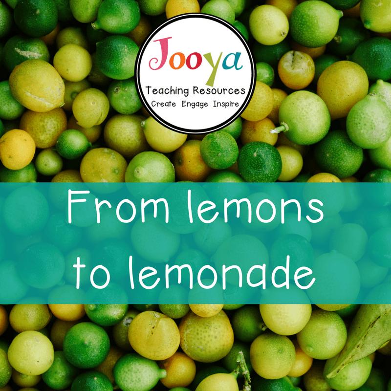 From lemons to lemonade