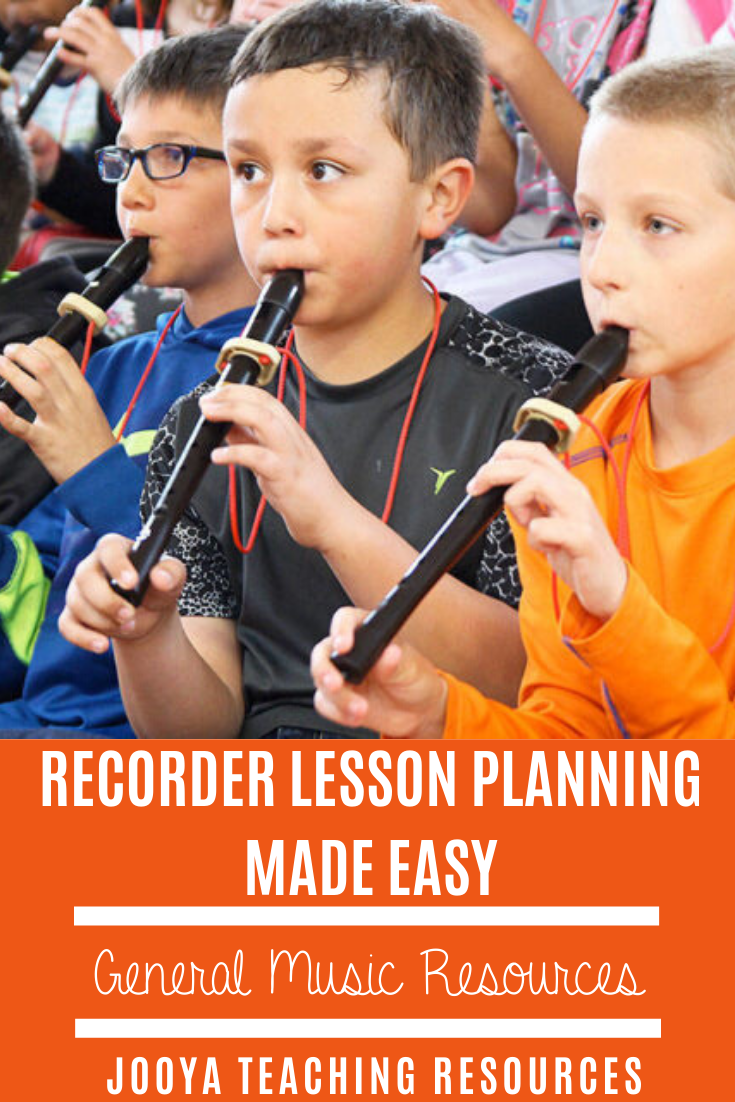 Try this free recorder lesson planning template and make your supper elementary and middle school music classes run smoothly. The students will enjoy the lesson activities and format when you use this free printable music resource