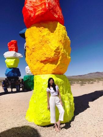 Julia Lee Las Vegas Seven Magic Mountains