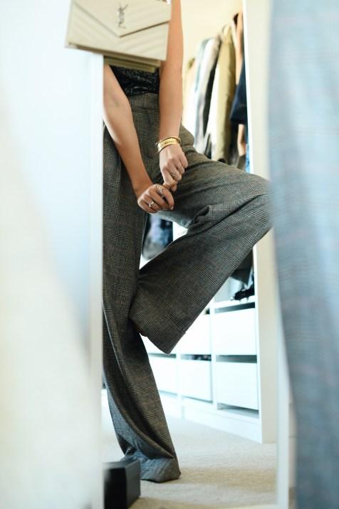 Wide Zara trousers