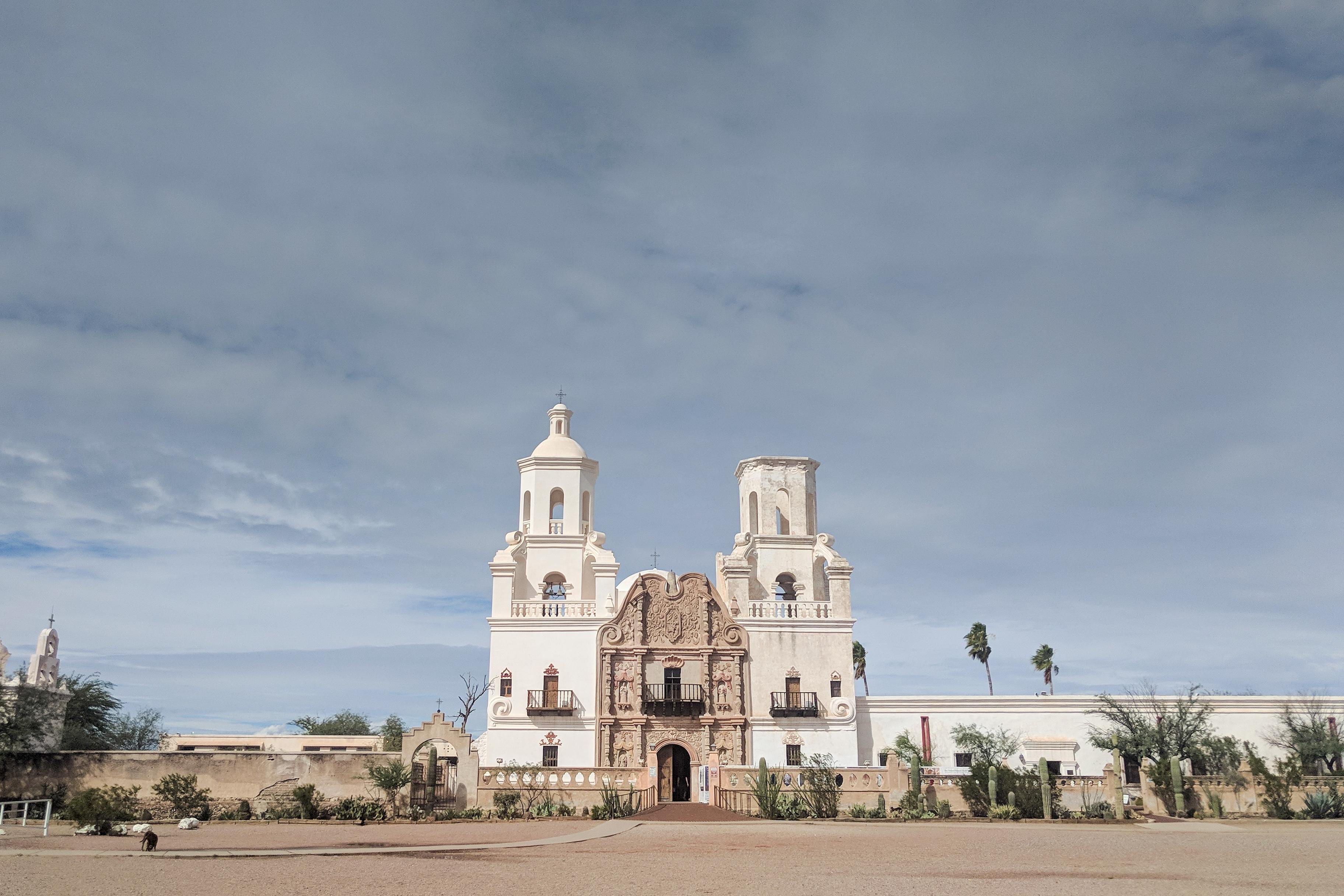 San Xavier Mission/ Tucson AZ