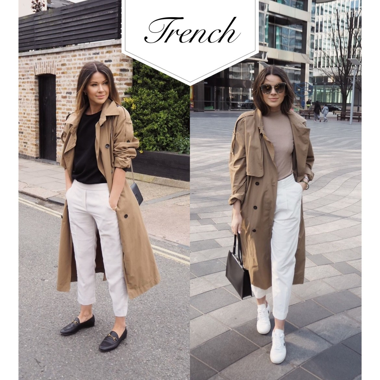 rewearing trench coat