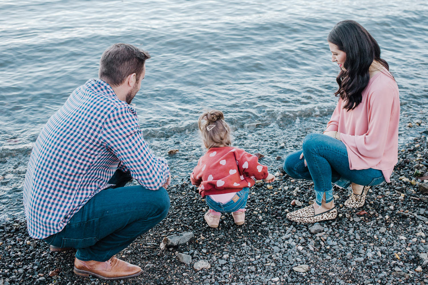 Lifestyle family photo session - Hoboken New Jersey - waterfront