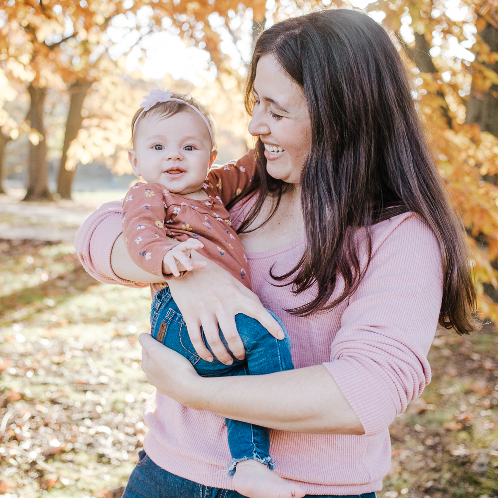 lifestyle family session - mommy and me