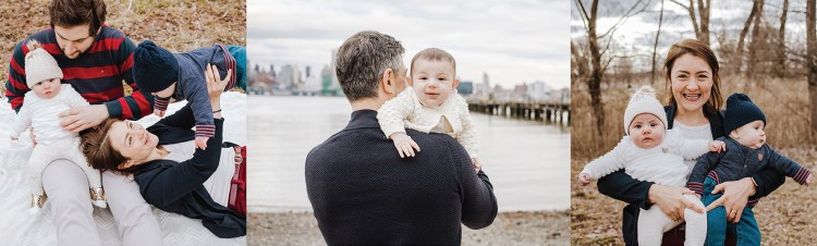5 mistakes parents make before their New Jersey family photo session. Avoid them to get beautiful and connected family photos such as these with agreeable little babies.
