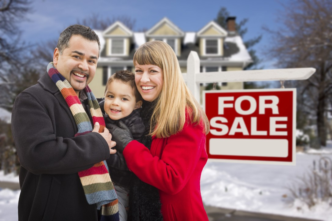 Enjoy selling your home during the holidays.