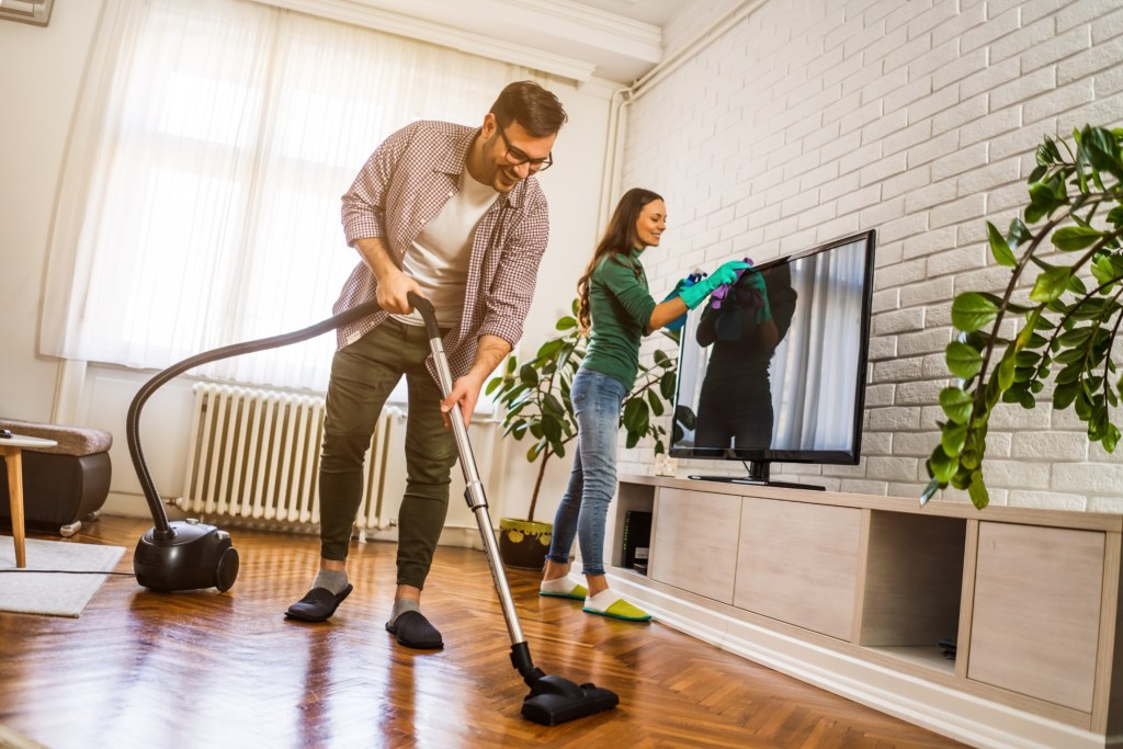 Keeping your house tidy will make it easier for the inspector to do their job, and it makes a good impression.