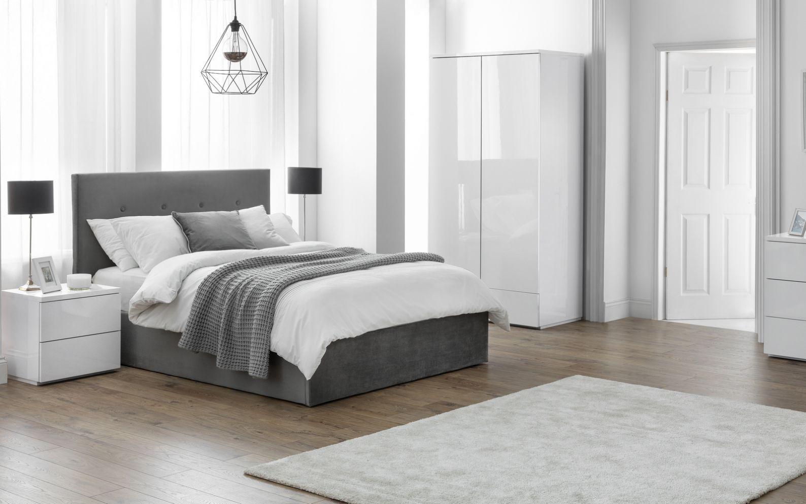 Monaco White Bedroom Julian Bowen Limited