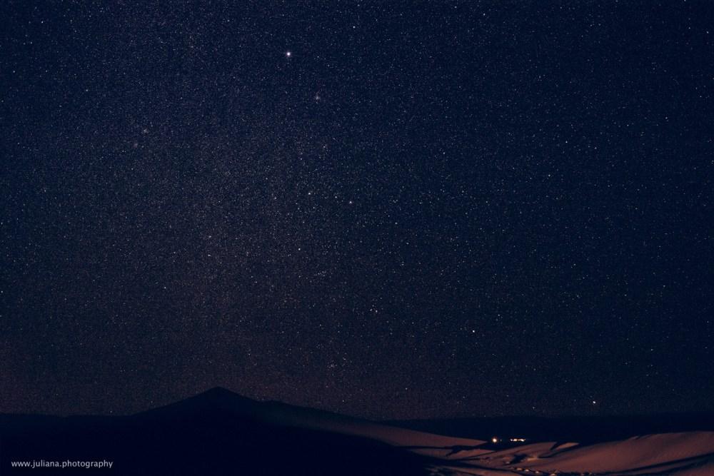 night sky stars moroccan desert tinfou dunes juliana scodeler