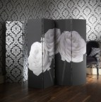 paravan-trandafiri-albi-fundal-negru