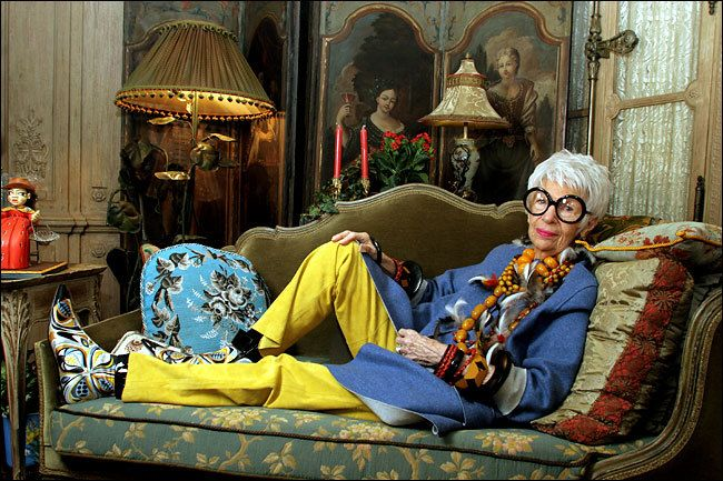 Iris Apfel: More is more.