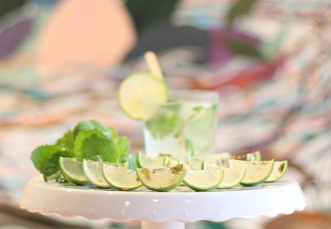 Receita, com vídeo, para fazer gelatina de mojito na casca de limão. Fácil e linda, essa receita irá deixar sua festa muito mais divertida.