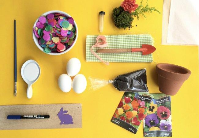 DIY - Ovos com semente: Quem disse que a Páscoa tem que ser só com chocolate? Vamos ensinar a criançada a plantar?