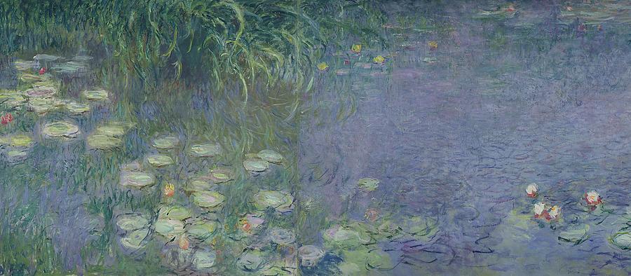waterlilies-morning-claude-monet