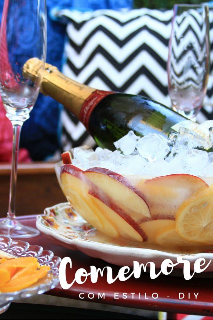 Aprenda a fazer uma fruteira ou balde de gelo decorado, centro das atenções da sua próxima festa. Fácil de fazer e o céu é o limite na hora de decorar!