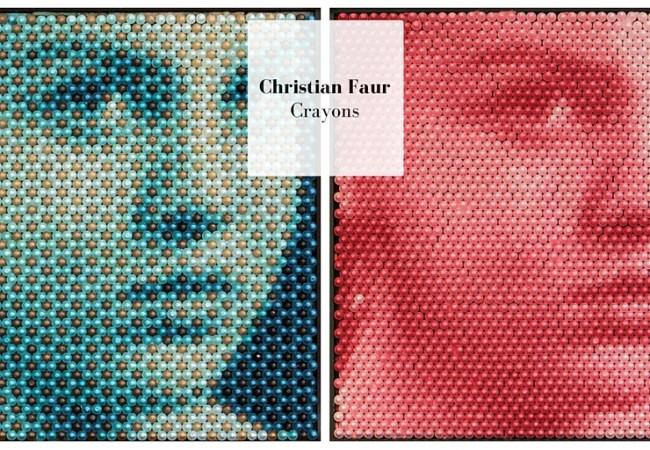 Crayons de Christian Faur