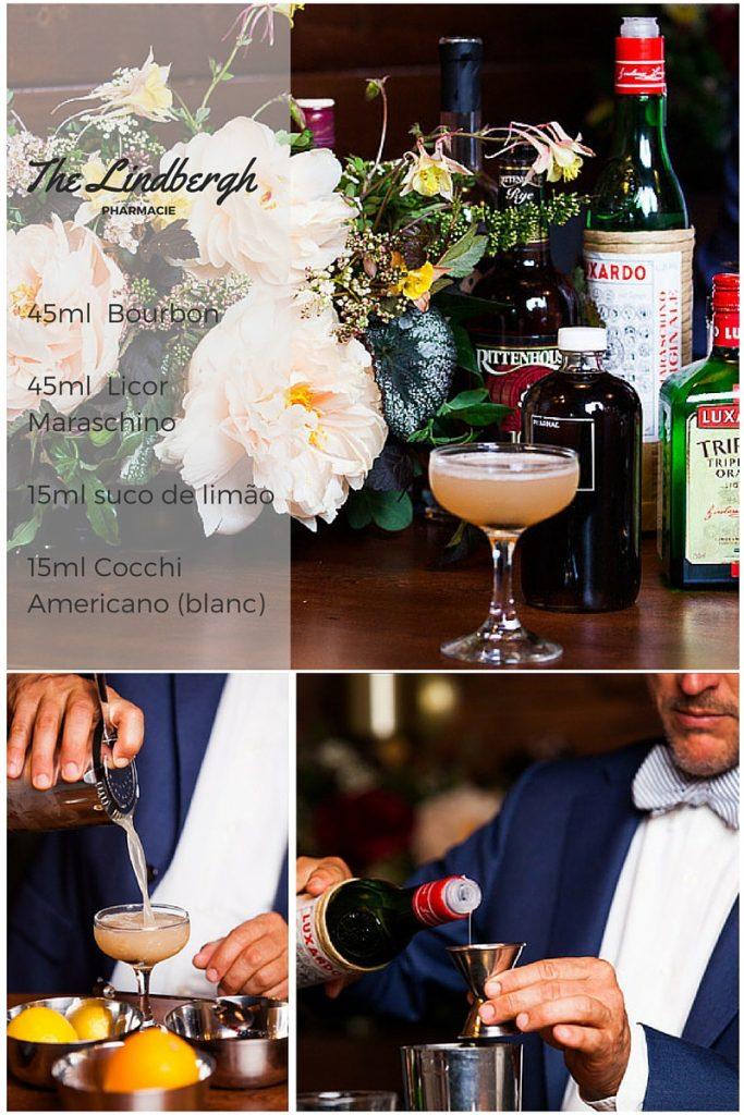 Receita - Esta é a última receita da série dos drinks mais lindos do Instagram. É a vez do The Lindbergh, um delicioso drink com Maraschino e BourbonReceita - Drinks mais lindos do instagram É a vez do The Lindbergh, um drink com Maraschino e Bourbon!