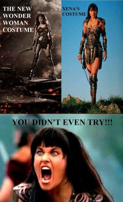 Xena Meme Wonder Woman