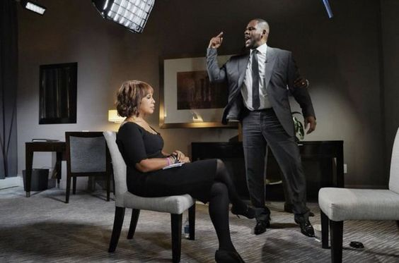 R. Kelly's emotional breakdown during an interview with Gayle King on CBS This Morning.