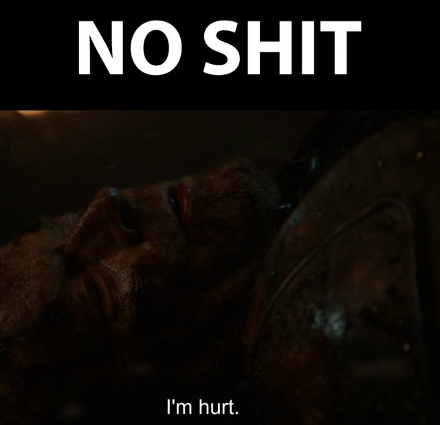 Game of Thrones Jorah Meme: No Shit