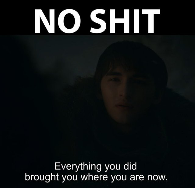 bran meme no shit
