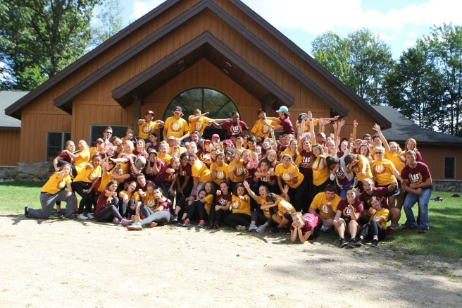 Everyone who attended the LAS Mentor/Mentee Retreat