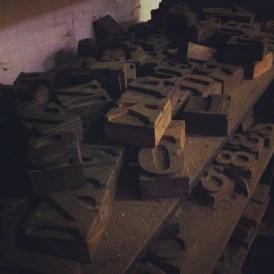 Visita tipográfica