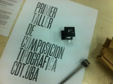 Aula de composição tipográfica