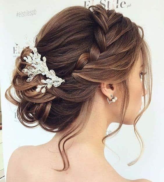 Imagem De Penteado Para Noiva - penteados simples