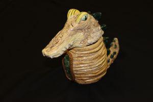 Canopic Jar - Alligator