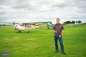 Rob Gooderham operations manager at Beccles Airfield