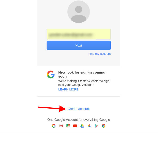 Google Gmail screenshot