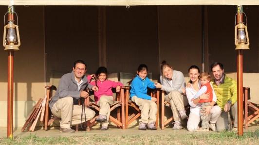 En mi tented camp en Seronera, Serengeti