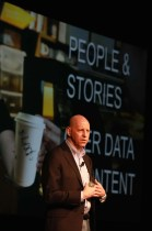 """Chris Malone, Author of """"The Human Brand"""", speaking at the iMedia Canada Summit, April 6-8, 2014, Montreal"""