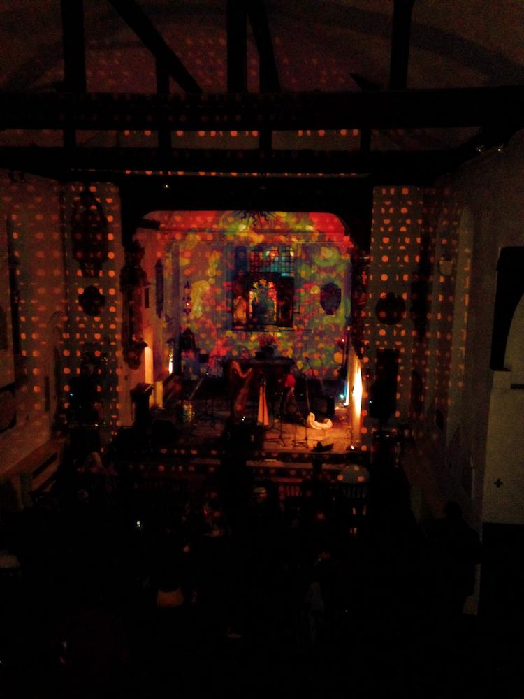 Julian Hand - MIE RECORDS - St Pancras Old Church - London