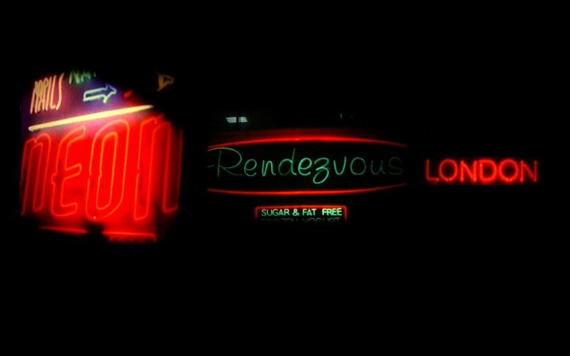 Neon Rendezvous London - Julian Hand