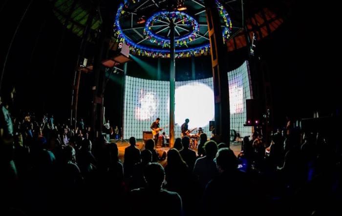 Keroxen 14 Festival - Santa Cruz - Tenerife - Julian hand - Light Show