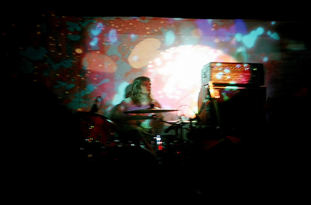 Band Photo Gallery - The Black Angels - The Boarderline - Light Show - Julian Hand