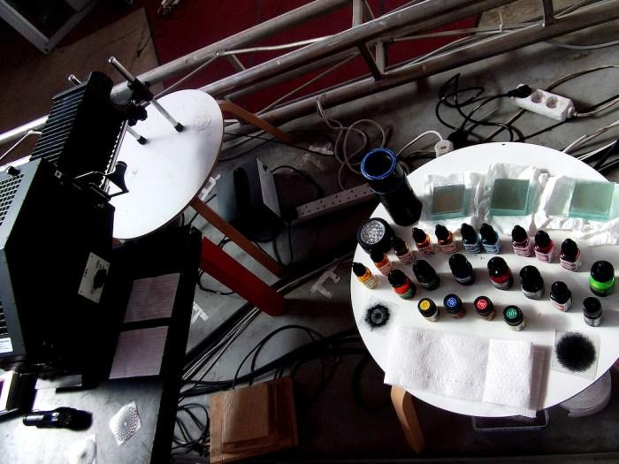 Moozak - Media Opera Audio Visual Festival - Julian Hand - Light Show