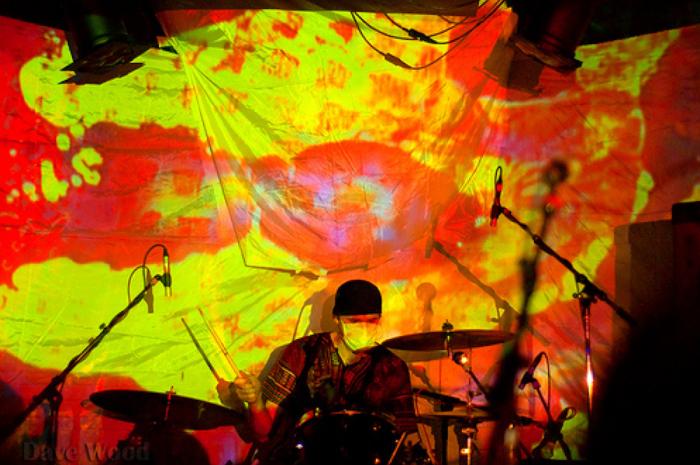 Band Photo Gallery - Clinic - Light Show - Julian Hand