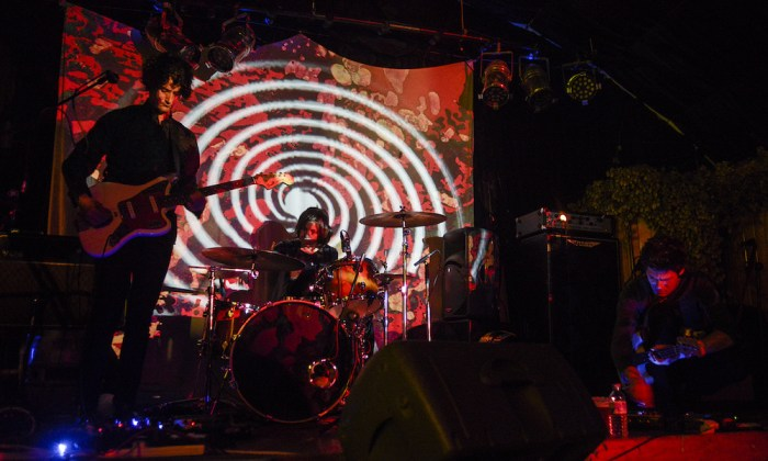 Band Photo Gallery - The Oscillation - Light Show - Julian Hand