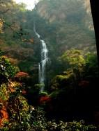 Blick auf den oberen Teil des Wli-Falls