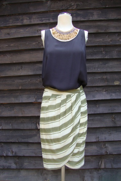 Malene Birger Lohas wrap skirt