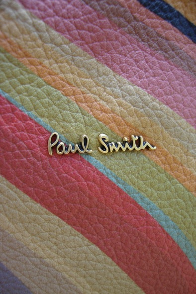 Paul Smith signature swirl leather bag