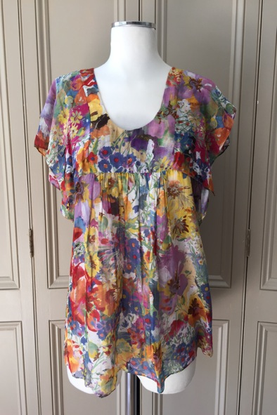Syella McCartney floral top