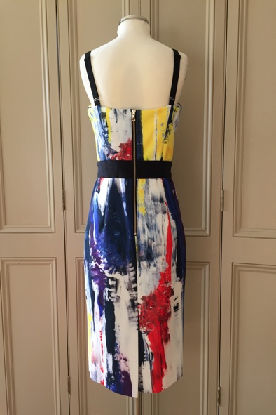 Milly of New York multi-coloured bodycon dress